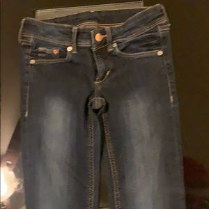 H&M size 24/30 skinny jeans